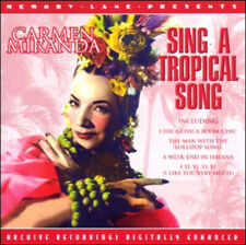CARMEN MIRANDA * 18 Original Recordings * Sing A Tropical Song * NEW CD *