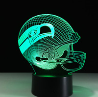 Seattle Seahawks Collectible Decor Night Light Touch Lamp Gift- Men,Kids,Women