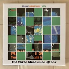 TBM THREE BLIND MICE 45 RPM BOX Audiophile IMPEX 6x 180g LP S/N: 024 NEW SEALED