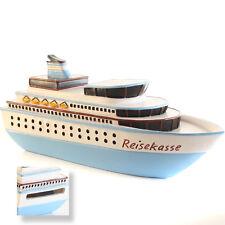 Passagierschiff Kreuzer Spardose / Urlaubsgeld Kasse f. Kreuzfahrt Schiffsreise