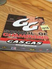 Gasgas 2004 TXT EC SM MC Pampera Quad Wild poster prospectus brochure prospekt