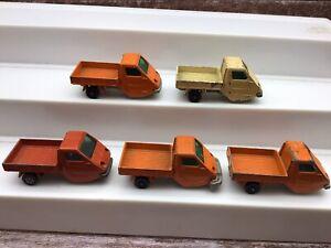 Corgi Whizzwheels Reliant TW9 pick up trucks job lot