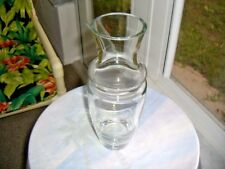 "Vintage 1950's Full Crystal 11"" tall Flower Centerpiece Vase"