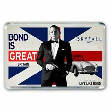 BOND IS GREAT BRITAIN:  DANIEL CRAIG as JAMES BOND  007 JUMBO FRIDGE MAGNET