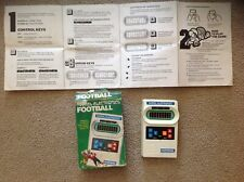 1977 Vintage Mattel  Electronics Football Game w/ Box & Instructions