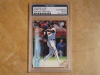 BARRY BONDS 1999 TOPPS CERTIFIED AUTOGRAPH ISSUE CARD #A10 SF GIANTS PSA