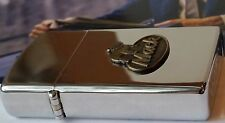 Zippo Lighter Slim Mack Truck 1980 RARE Vintage MNT ADVERTISING Lighter Chrome