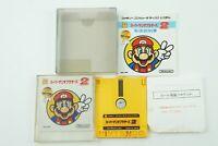 Super Mario Bros 2 NES Nintendo Famicom Disk System Box From Japan