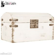 Elegant Shabby Chic Antique White Wedding Card Gift Box Vintage Wishing Well
