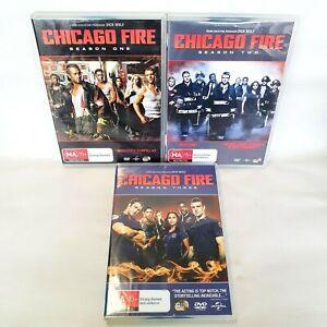 Chicago Fire TV Series DVD Seasons 1 2 3 - Region 4 AUS DVD - Free AU Post