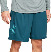 Under Armour Tech Graphic Mens Training Shorts - Green