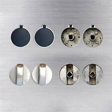 2pcs Metal Gas Stove Cooker Oven Control Knob Rotary Switch Replacement Handle