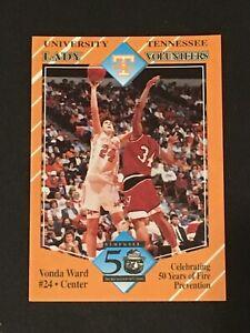 VONDA WARD 1993-94 Tennessee Lady Vols Team Issue ***Tough Regional Issue***