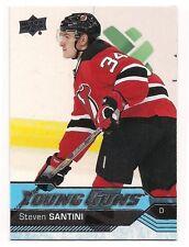 Steven Santini 16-17 Upper Deck 1 Young Guns Rookie Card SP