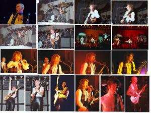 "60 6""x4"" Slade concert photos Birmingham 1978, Reading 1980 & Bilston 2006"