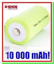 Batteria Pila Ricaricabile TENSAI D TORCIA 10000 mAh HR20 Professionale