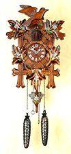 Schwarzwald- Kuckucksuhr- Edelweiß- Cuckoo Clock- Black Forest- Modell 2