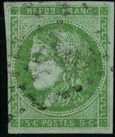 France 1870 stamps definitive USED Mi 39a CV $176.00 171230023