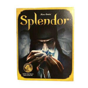 Splendor Board Game Marc Andre Asmodee 2-4 Players Complete 2017