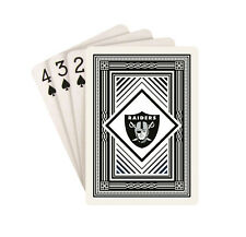 Oakland Raiders Classic Logo Style Deck of Playing Cards NFL Football