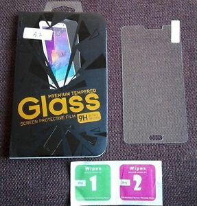 Pellicola in vetro temperato 9H salva schermo per Samsung Galaxy A7 A700 A700F