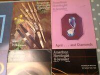 American Horologist & Jeweler Magazine 1979 Year Set 12 Editionso