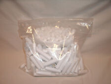 Over 200 White Plastic Empty Lip Balm Tubes With Caps ~ New