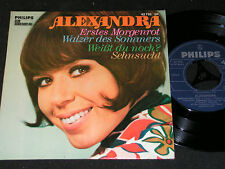 ALEXANDRA Erstes Morgenrot + 3 tracks / 60s German 4-track CLUB SP PHILIPS 42755