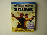 2 Guns (Blu-ray/DVD, 2013, 2-Disc Set, Includes UltraViolet) NEW w/slipcover