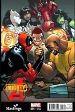 MIGHTY AVENGERS 1 VOL 2 HASTINGS VARIANT SUPERIOR SPIDERMAN INFINITY DEADPOOL