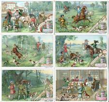 Chromo Liebig Sang. 546 ITA Caccia al Cervo II ANNO 1898