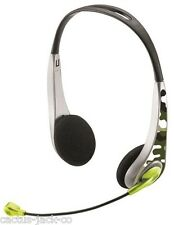 BRAND NEW COMBAT HEADSET FOR PC LAPTOP NOTEBOOK NETBOOK