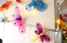 Gemischt Garten Insekten LED Lichterkette Schnüre UK-CE-Stecker Kinderzimmer/
