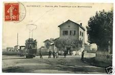 69  SATHONAY station de tramways aux marronniers  (77)
