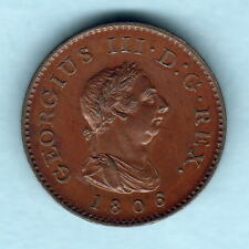 New listing Great Britain. 1806 George 111 - Farthing. Bronzed Proof