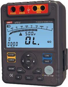 Insulation Resistance Tester 2500V PI DAR Analog Bar USB Interface UNI-T UT-512