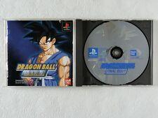 Dragon Ball Final Bout PS1 BANDAI Sony Playstation From Japan