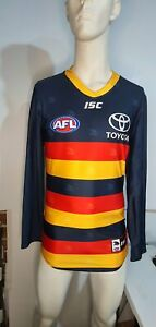 2017 Adelaide Crows AFL HOME Player Issue Guernsey Long Sleeve