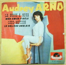 Nice Audrey Arno - 5 La Bosse Nove E.P. Sleeve Only - French