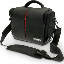 iGadgitz Medium Black Water Resistant SLR DSLR Bridge Messenger Came - Imported