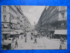 PARIS  :  La Rue Saint-Lazare.