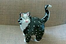 2001 Signed Amy Liscombe with Spottted Raised Polka Dots Cat