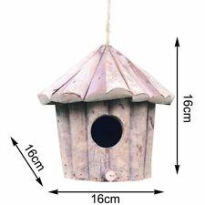 Outdoor Handmade Wooden Bird House For Hummingbird Other Small Bird Nest Hanging