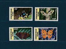 Congo république  faune insectes papillons   1987  num: PA 371/74  **