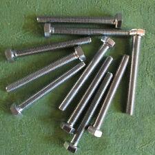 Sechskantschrauben UNF 3//8-24 ähnl DIN 933 verzinkt  verschiedene Längen