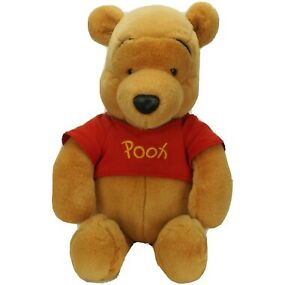 "Winnie the Pooh LARGE Plush Disney Mattel PLUMP 20"" Arco Toys Vintage Bear"