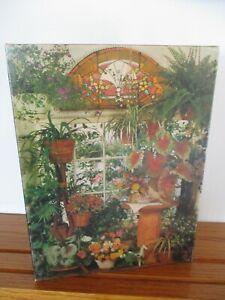 Complete 500 Piece 1977 Springbok Puzzle.  Plant Room.