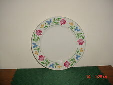 "FARBERWARE ""DORCHESTER"" 12 1/4"" ROUND PLATTER/388/WHT-FLORAL-VARIOUS/FREE SHIP!"