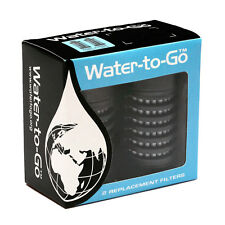Water To Go - Replacement Purifying Filter (Double-Pack) - for 750ml Bottles