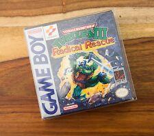 Teenage Mutant Ninja Turtles III: Radical Rescue CIB Complete Box Manual NICE